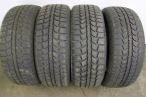4-215/60R16 M+S UNIROYAL TIGER PAW ICE&SNOW WINTER TIRES