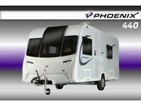 Bailey Phoenix Plus 440, 2021 Touring Caravan