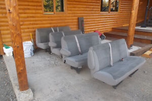 Bench seats from Ford F350