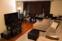 Huge three bedroom penthouse apartment steps from subway