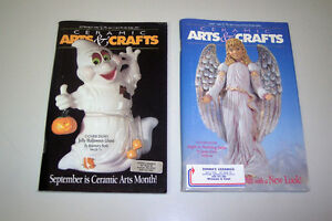99 Vintage Ceramic Arts & Crafts Magazines