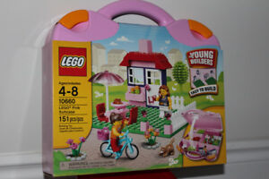 Lego Pink Suitcase - For Young Builders