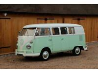 1965 VW Split Screen Camper Van. Factory German Built. Right Hand Drive.