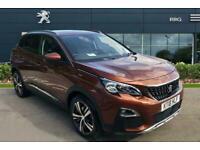 2018 Peugeot 3008 1.5 BlueHDi Allure SUV 5dr Diesel EAT (s/s) (130 ps) Auto Hatc