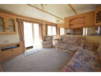 2001 Atlas Solitaire 37x12 | 2 bed Centre Lounge Static Caravan | Elec Heating