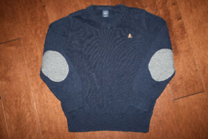 Navy Baby GAP V Neck Sweater - 5T