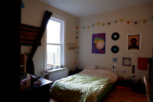 SPACIOUS/LUMINOUS BEDROOM  *APP 6 1/2 MILE END* JANUARY TO AUG.