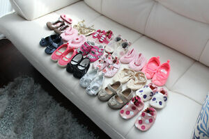 Baby Girl Shoes - various sizes 0-12 months old