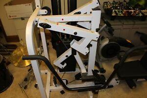 Compact folding home gym