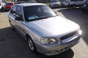 2001 Hyundai Accent Sedan Beaconsfield Fremantle Area Preview
