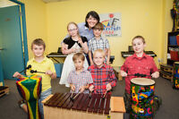 Register now for fall music classes...3 years of age and up!
