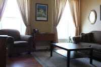 Furnished Apartments - long or short term rentals