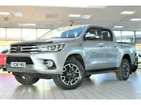 2018 Toyota HI-LUX 2.4 INVINCIBLE X 4WD D-4D DCB 4d 147 BHP PICK UP Diesel Autom