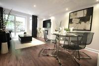 Appartement  4 1/2 meublé-luxueux à prix abordable   850 pieds c