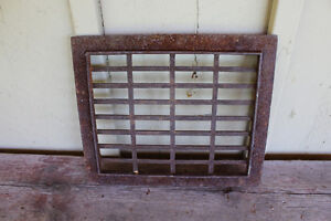 Old Small Floor Grate #2 London Ontario image 2