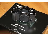 Fujifilm X-T10 body, boxed as new