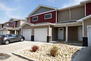 New Three Bedroom Townhouses with GARAGE, for rent in Ft. Sask.