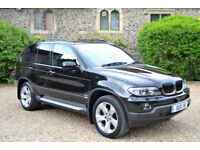 BMW X5 3.0d auto 2004, Sport, 63K MILES, 2 OWNERS, £7.5K FACTORY EXTRAS