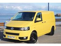 2013 63 VW TRANSPORTER T5 102 SWB * TAILGATE AIR-CON E/PACK * YELLOW T5.1 GP