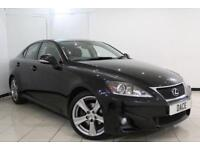 2012 62 LEXUS IS 2.5 250 ADVANCE 4DR AUTOMATIC 205 BHP