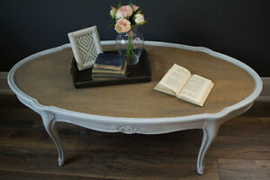 French Provincial Coffee Table - Professionally Refinished