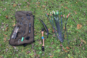 RT handed adult recurve bow package