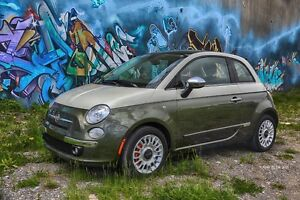 2012 Fiat 500 Lounge Coupé (2 portes)