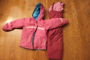 Size 6 Columba Winter Jacket (Reversible) and Snowpants