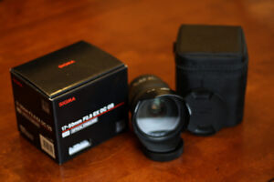 Sigma 17-50mm f2.8 OS HSM zoom lens for Canon EF - Used