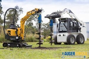 SKID STEER & EXCAVATOR AUGER DRIVES & ANCHOR DRIVES