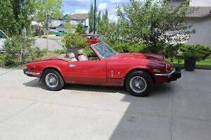 REDUCED  A Blast from the Past  1978 Spitfire