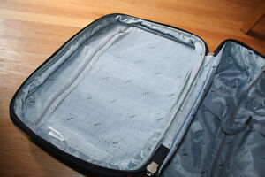 Via Rail Carry on luggage in burnt orange purchased at the Bay Kitchener / Waterloo Kitchener Area image 4
