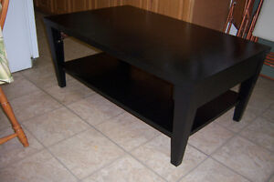Elegant Coffee Table with 1 End Table