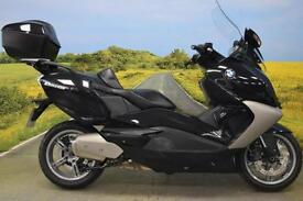BMW C650 2013** ONE OWNER, 1378 MILES, TOP BOX, ABS, HEATED SEATS **