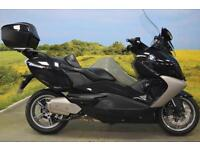 BMW C650 2013** One Owner, 1378 Miles, Top Box, ABS,