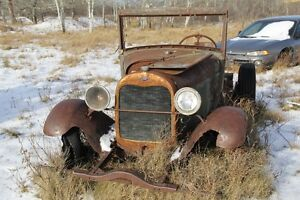 OLD Car Parts and bodies
