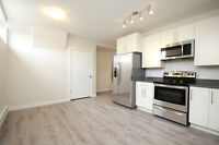 New 2 Bedroom Suite Available Immediately in East End
