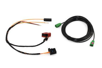 Original Kufatec Cable Loom Cable Set Plug TV Tuner Rns 850 For VW Touareg 7P