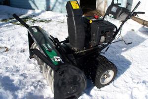 """mtd 45"""" snow blower"""