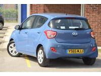 2015 Hyundai i10 1.0 SE Blue Drive Petrol blue Manual