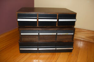 Audio Cassette Tape Storage Cabinets