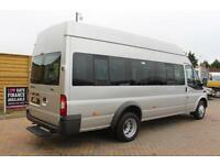 2012 FORD TRANSIT 430 TDCI 135 HIGH ROOF 17 SEAT BUS MINIBUS DIESEL