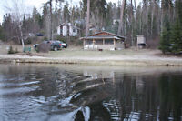 Waterfront camp for sale at Half Moon Campground