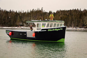 COMMERCIAL FISHING BOAT CONSTRUCTION - IMMEDIATE AVAILABILITY