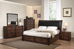 Brand new-Modern Double bed$169/Queen $189.99up-Free delivery
