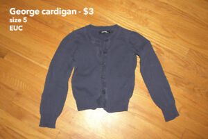 Assorted Size 5 Girls Clothes
