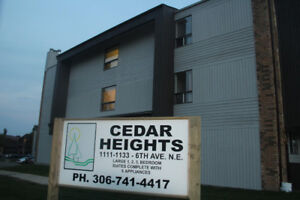 3 BDRM in Clean, Quiet, Secure, Adult Bldg in SWIFT CURRENT!