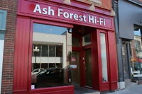 Ash Forest Hi-Fi Open at 210 Princess St. Custom Installs!