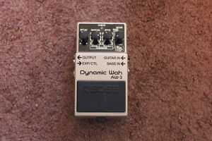 FS/T For Bass and Guitar BOSS AW3 Dynamic Wah Pedal MINT