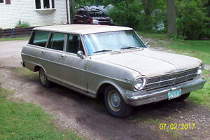 1962 & 1963  Nova Stationwagons